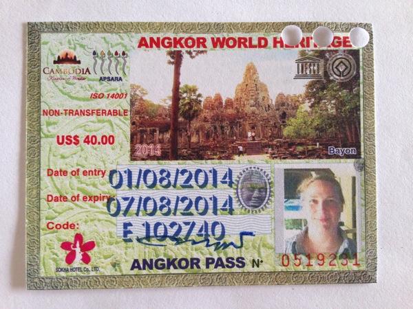 Angkor Ticktet